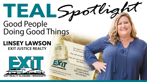 Teal Spotlight | Linsey Lawson - EXIT Justice Realty